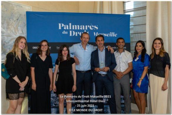 Roman-André a été récompensé par le Palmarès du droit